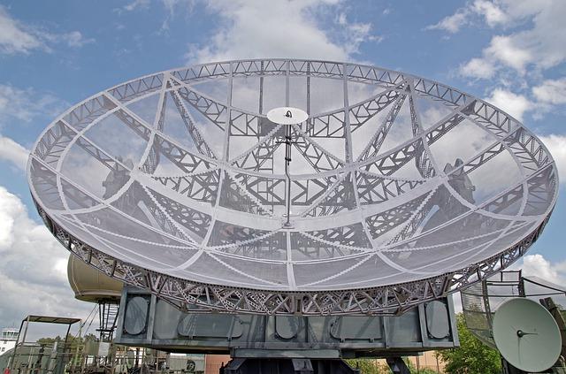 radar lotów satelitarny