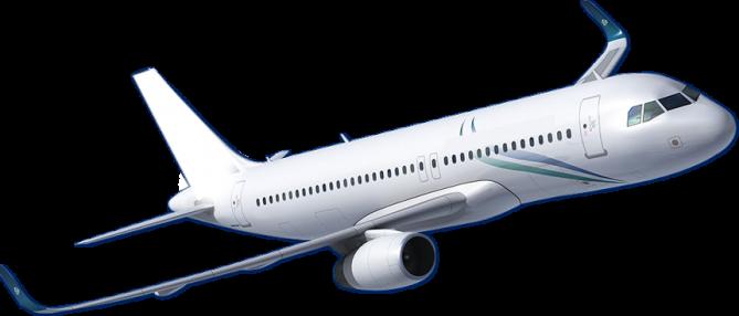 samolot pasażerski linii Ryanair